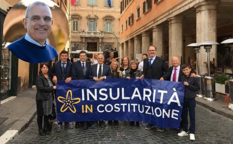 Insularità in costituzione manifestazione a Roma